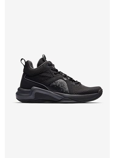 Lescon Galaxy Siyah Kadın Basketbol Ayakkabısı Siyah